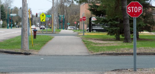 Vadnais Heights Stop Signs Madness