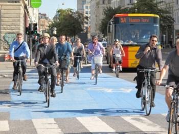copenhagen bike lane