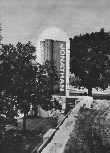 Preserved Farm Silo in Jonathan, Carver County, Minnesota, 1972