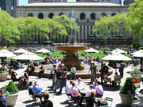 Bryant Park today