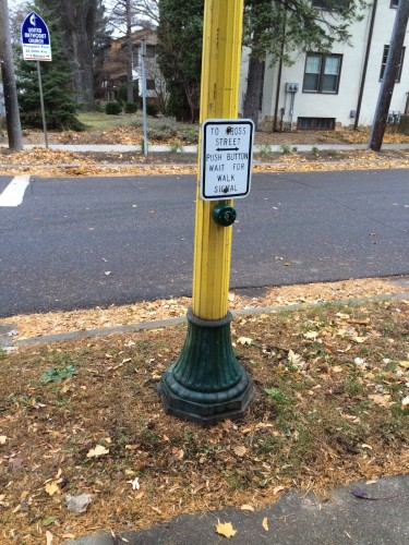 Replacement Walk Button (Franklin and Seymour)