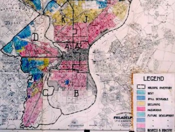redlining map phila