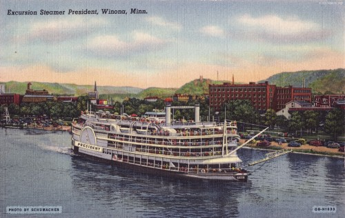 Excursion Steamer