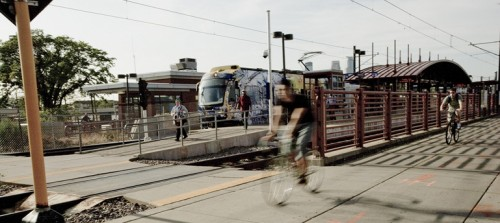 Mutli-Use Transportation along Implemented Light Rail