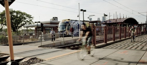 Mutli-Use Transportation along Implemented Light Rail