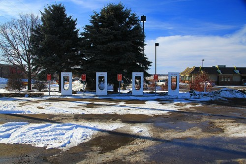 Tesla Supercharger in Albert Lea, MN