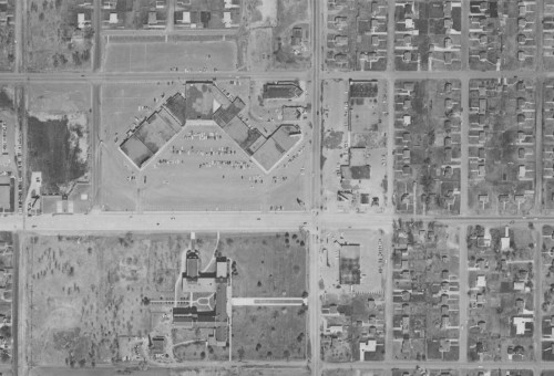 66th and Nicollet in 1956. Image from MHAPO.
