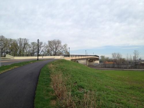 Looking north on the new(ish) Van White Memorial Boulevard