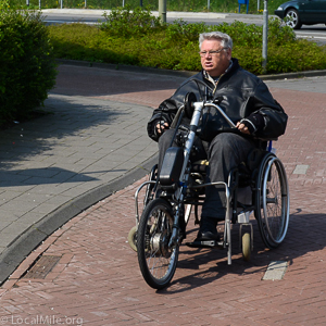 handcycle, wheelchair, bicycle, netherlands, assen
