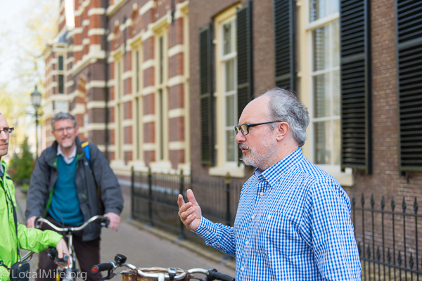 David Hembrow from Hembrow Cycle Tours talking about Bicycle Infrastructure in Assen.