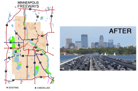 Minneapolis Planned Freeways