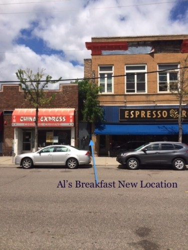 Al's Breakfast - New Location