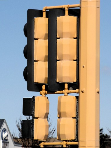 "Econolite ""Buttonbacks"", Market Drive and Curve Crest Boulevard, Stillwater"
