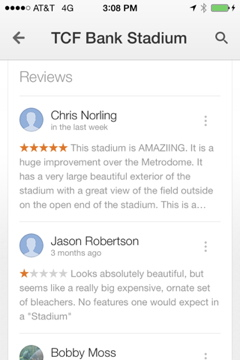 Reviews for TCF Bank Stadium