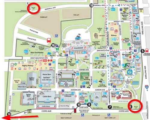 Minnesota State Fair _ Maps