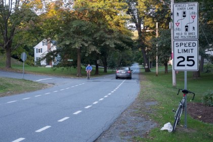 advisory bike lanes NH