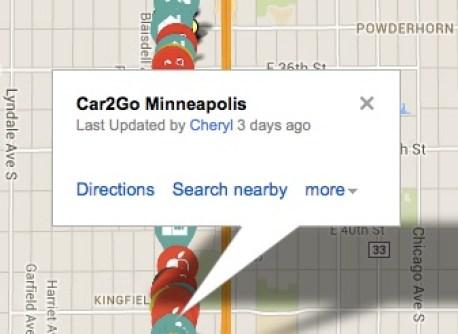 Car2Go Location