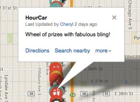 HourCar Location