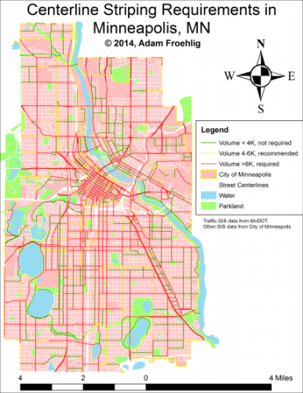 Minneapolis Street Centerline Requirements