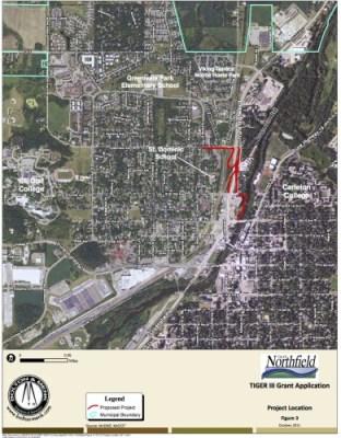 TIGER project original trail plan
