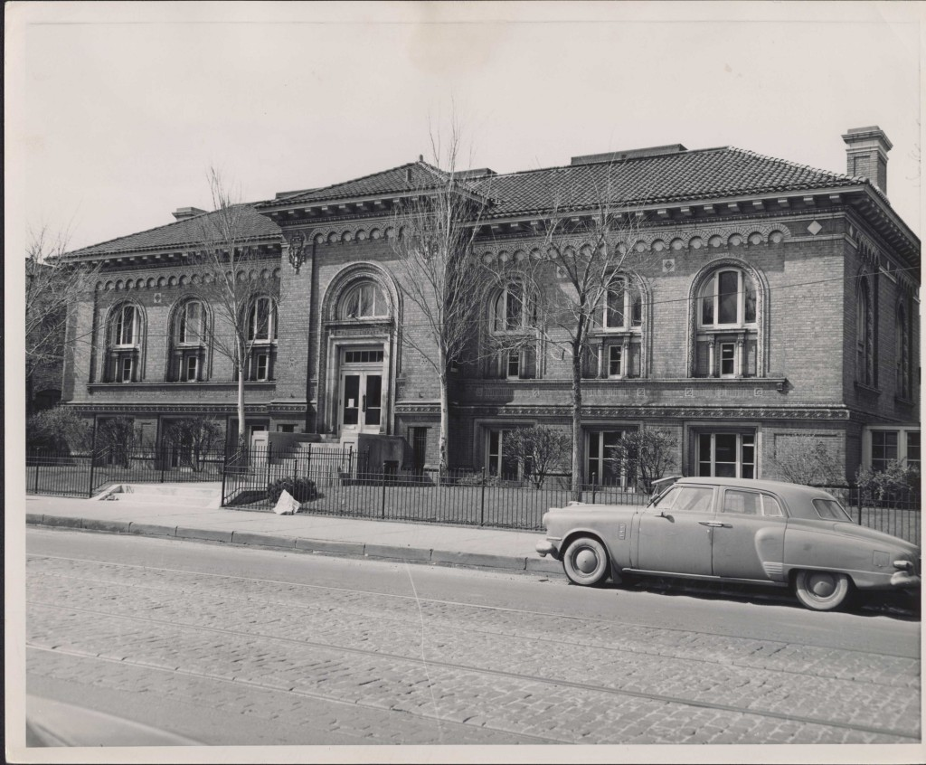 Franklin library, 1954