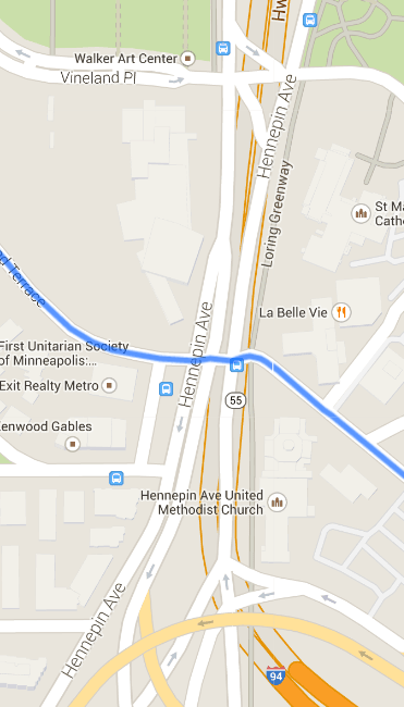 The blue line is Groveland