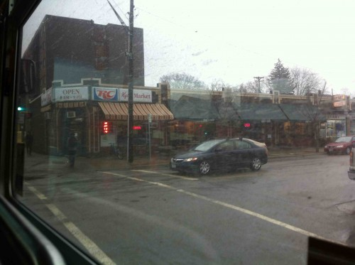 36th and Bryant Ave. S. Clearly I picked the wrong day to do this by bus.
