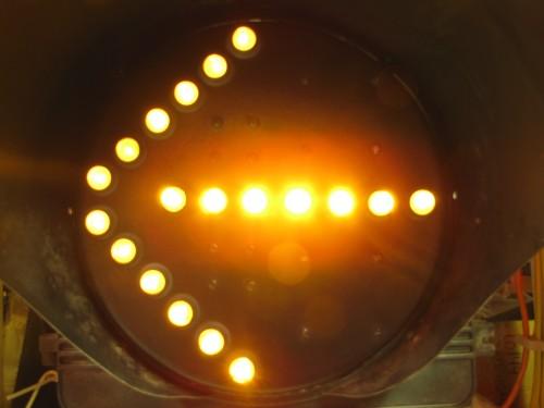 FIber Optic Bimodal Arrow- Yellow Mode