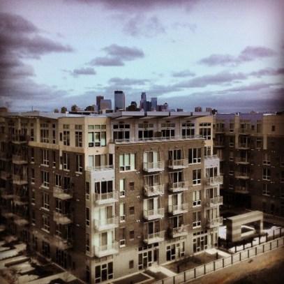 Flux apartments. Photo by flickr user Matt Lewis.