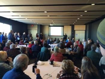 Prospect Park Neighborhood Meeting on Prospect North. February 14, 2015
