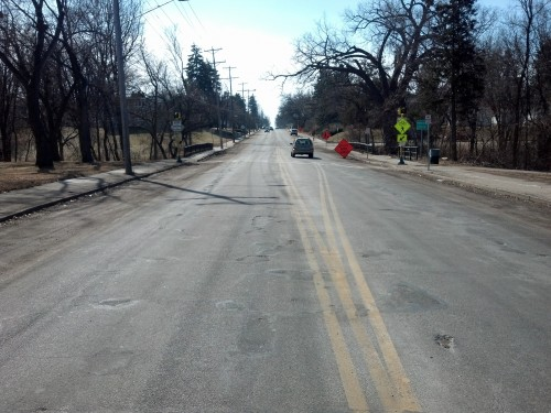 "Vehicle Ignoring ""Refuge"" at Minnehaha Creek Crosswalk"