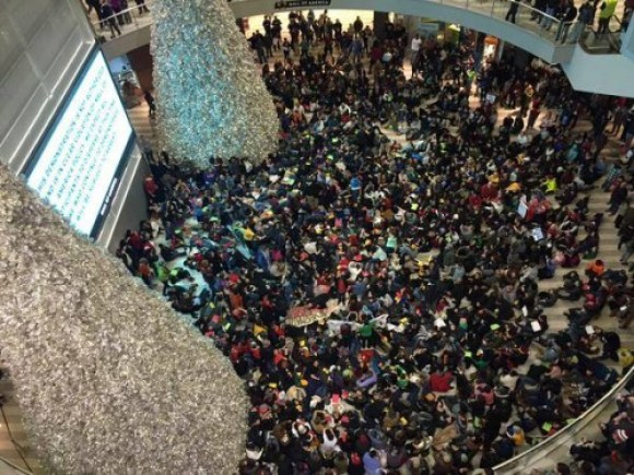The Mall of America rotunda is exactly where the conversation on racial disparities should be taking place.