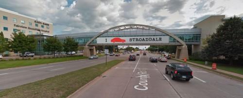 Stroaddale gateway signage