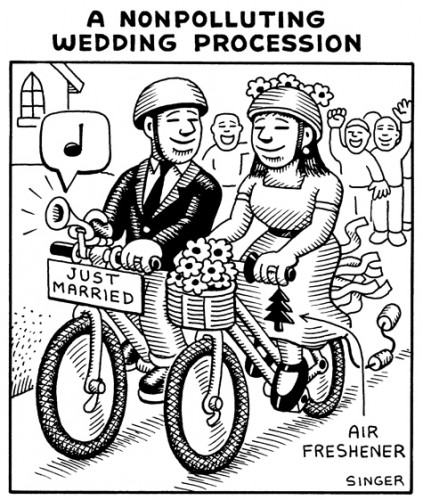 (No Exit) A Nonpolluting Wedding Procession
