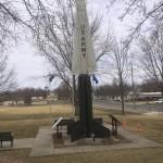 Rocket (US Army Surplus?) at playground.