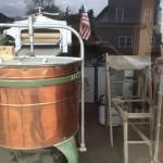 Daylight Copper Washtub at the Laundromat.