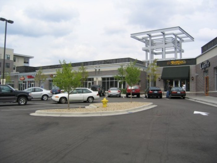 All Retail Spaces Are Accessible From the Parking Lot