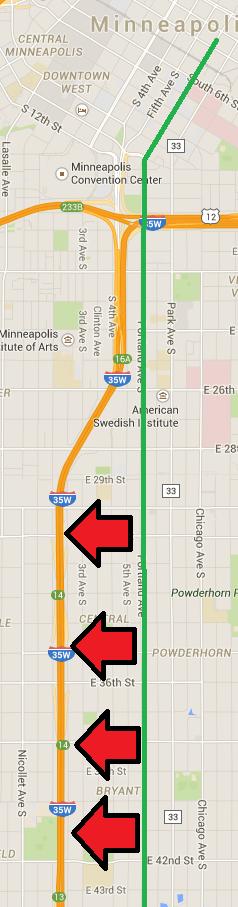 Portland & I-35W