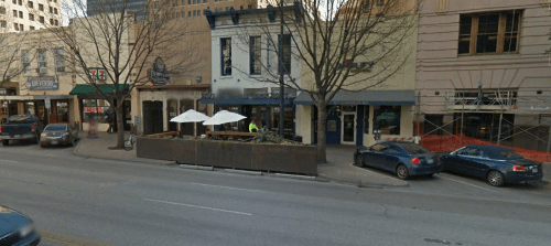 This one is from Google Street View