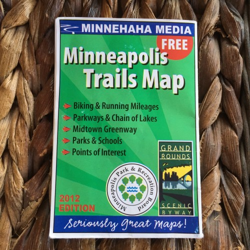 Minneapolis Trails Map