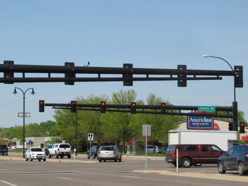 Cedar Ave and County 42,   Apple Valley
