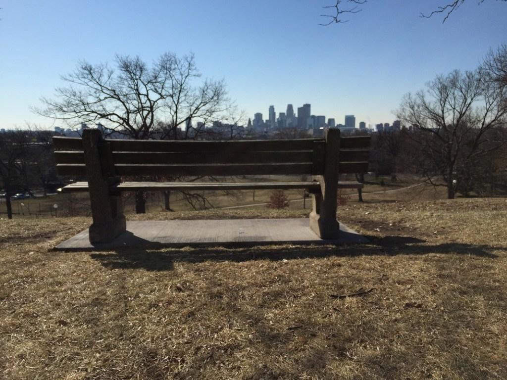 Fairview Park bench