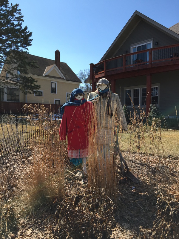 46th Street scarecrows