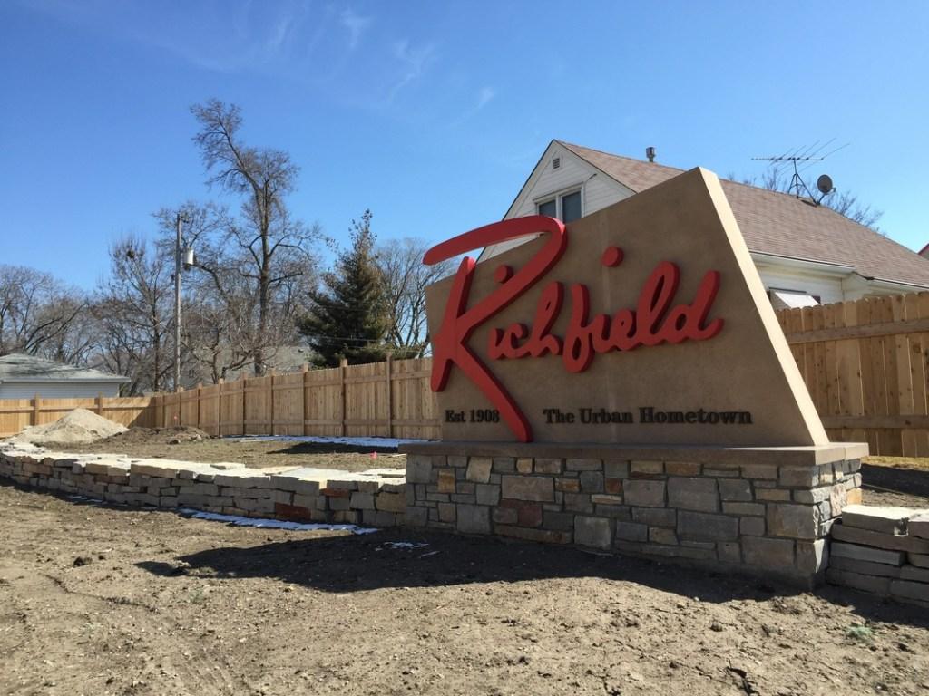 Richfield sign