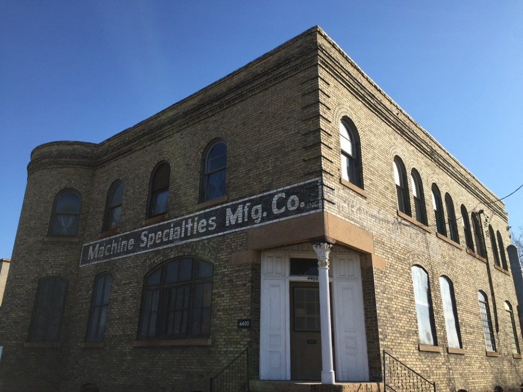 Building at 44th Avenue N and Lyndale Avenue
