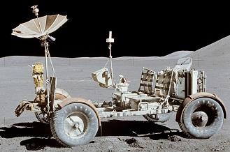 Apollo 15 Lunar Rover (Source: NASA)