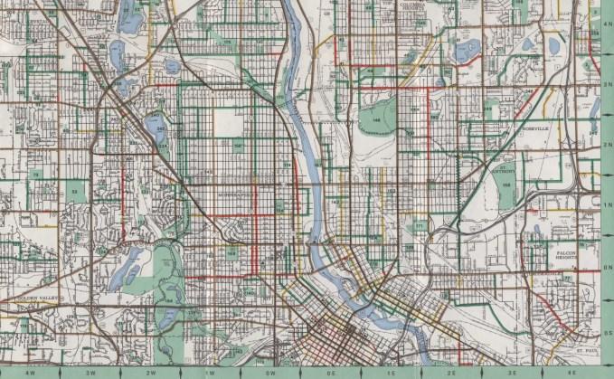 mn bikeways 1972