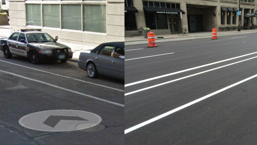 9th Street before and after