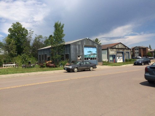 Historical Industrial Building in Grand Marais