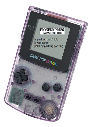 parking gameboy